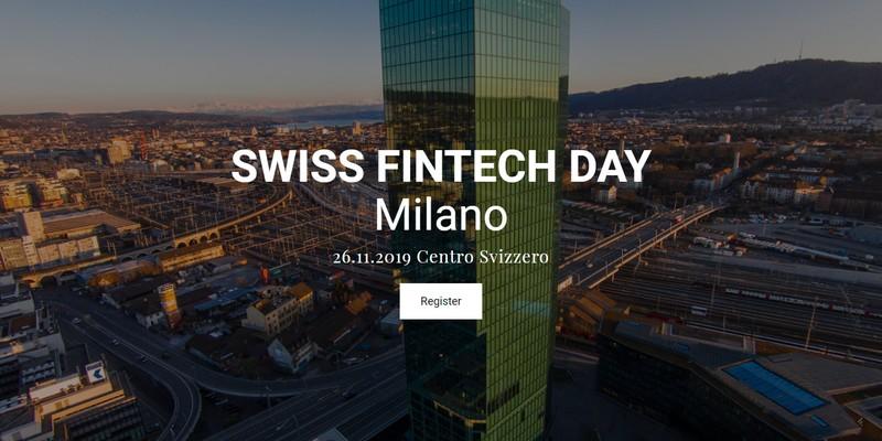 Evento-SwissFintechDay 2019 Centro Svizzero