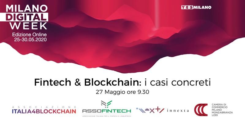 Fintech e Blockchain casi concreti